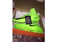 NIKE MERCURIAL VELOCE III SG-PRO - Football boots - electric green Size 7.5/ 42