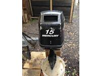 Outboard Engine Mercury 15 hp