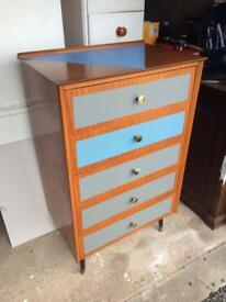 Up-cycled Chest of Drawers Unit