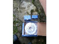 Vectra, Saab brake disc and pads