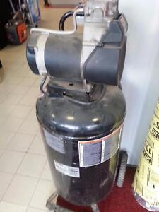 Devilbiss Pro Air II 25 Gallon Air Compressor (#46140). We sell used Air Compressors. We carry Dewalt, Hilti, Ridgid!