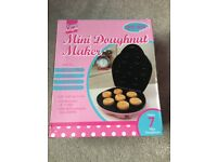 Pink mini doughnut maker