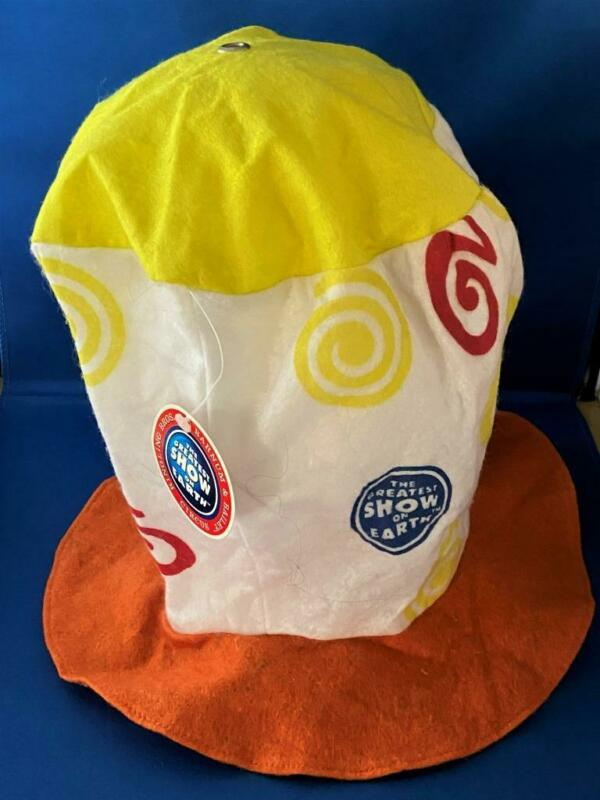 RINGLING BROTHER  SOUVENIR CLOWN HAT -THE GREATEST SHOW ON EARTH-w TAG-2002