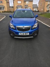 Blue Vauxhall Mokka Exclusiv 1.6 5dr Hatchback FOR SALE