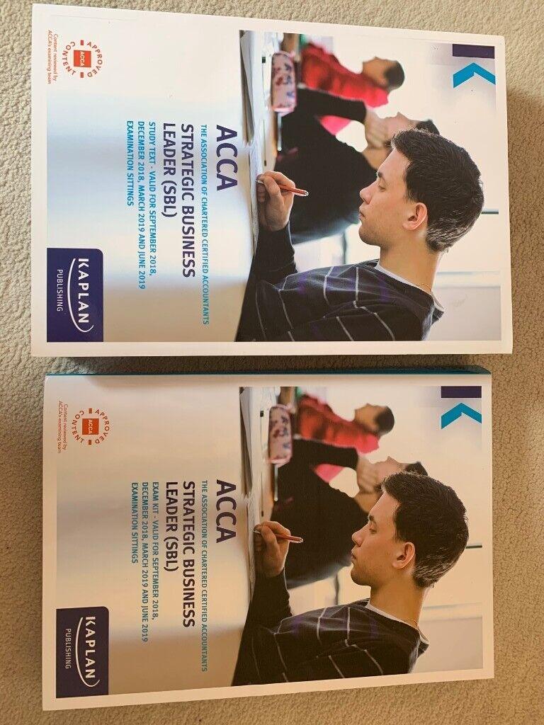 SBL ACCA Kaplan Textbook and Exam Kit   in Bristol   Gumtree