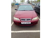Honda Accord 1.8 VTec injection. Clean car, drives well in good condition. Good family car.