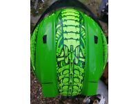 Icon SSR Helmet Speedmetal Green