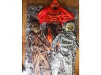 🎃👻X3 BOYS HALLOWEEN OUTFITS 5-6 YEARS👻🎃