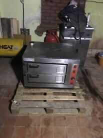 Commertial pizza oven