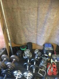 Weight training & Fitness Equipment