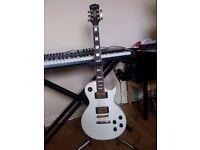 Epiphone Les Paul Custom Electric Guitar in Alpine White
