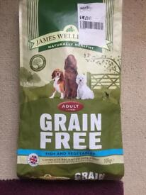 Grain free dog food 10kg SEALED AND PERFECT CONDITION