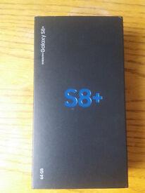 samsung galaxy s8 plus (unlocked) brand new