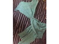 Brand new soft mermaid tail blanket