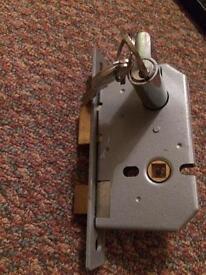 2 cylinder mortis locks with keys