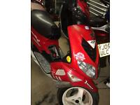 Peugeot speedfighter 2 Wrc 50cc 53plate spares repairs
