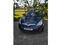Vauxhall corsa 2011 £30 road tax per year lady owner