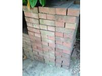 420 red bricks with chamfered edge
