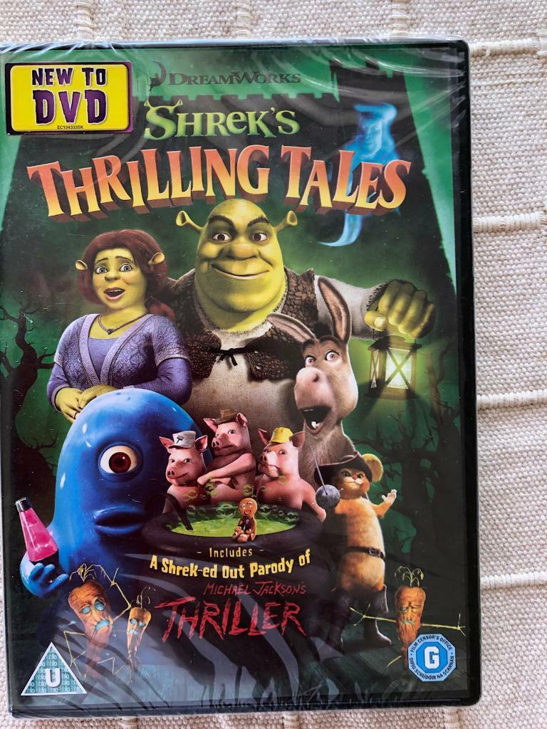 Shreks thrilling tales dvd. New and sealed