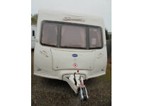 2005 Bailey Senator Vermont 2 Berth Touring Caravan With Large Rear Washroom & Motor Mover Fitted!