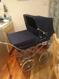 Silver cross traditional coach built high pram