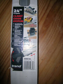 Trend 610mm/24in Clamp Guide System CGS24