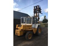 Climax 4x4 forklift