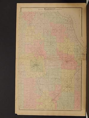 New York, Chautauqua County Map, 1881 Town of Harmony N6#24