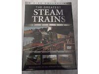 SET of STEAM TRAIN DVD's - STILL IN ORIGINAL PACKING - BARGAIN - L@@K