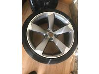 New audi alloy 19 inch rotor