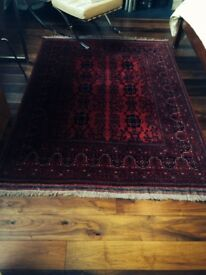Hand Knotted, 100pct Hand Spun Wool Oriental Rug 150 cm x 200 cm (4' 11'' x 6' 6'')