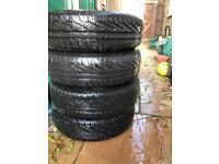 Uniroyal Tyres 165/70/13 from Corsa