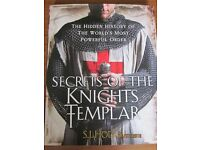 Secrets of the Knights Templar: Hidden History of the Most Powerful Order hardback - Susie Hodge