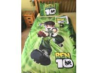 Ben 10 bedding, towel and wallet