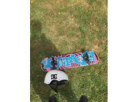 Voltage skateboard and DC helmet