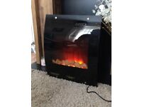 Remote control electric fire, Wall mount or use freestanding