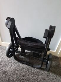Partly Used Grey Red Kite Platinum Pushchair