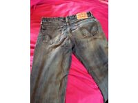 Original Levi's 545 jeans