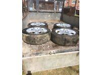 17 inch Peugeot alloy wheels
