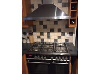 Range oven duel burner for sale