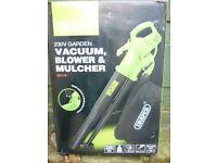 New Draper Garden Vac / Blower / Mulcher