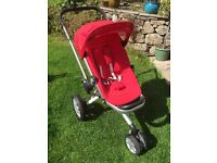 Quinny Buzz 3 Pram Stroller and Dreami Carrycot VGC