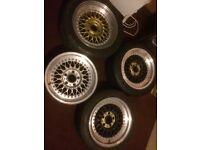 Genuine Bbs rs wheels to fit e30 m3 e28 m5 and e24