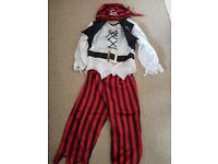 Boys fancy dress costumes size 5-6 superhero, pirate, cowboy, knight