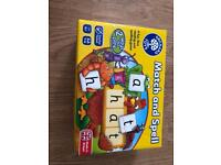 Match and spell game orchard games