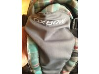 Oxbow backpack with chest rest 3 compartments