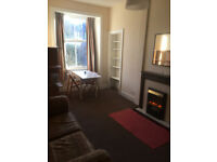 Sunny 1 bed top floor flat overlooking canal, Polwarth.