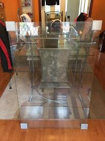 Toughened glass table top from IKEA