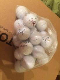 Bag of 20 used balls