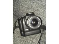 Canon EOS 350D DSLR with Zoom lens and Grip